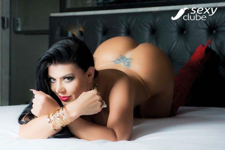 Luizza Meirelles e Tatiana Ribeiro peladas na Revista Sexy 57