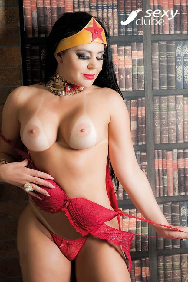 Luizza Meirelles e Tatiana Ribeiro peladas na Revista Sexy 62
