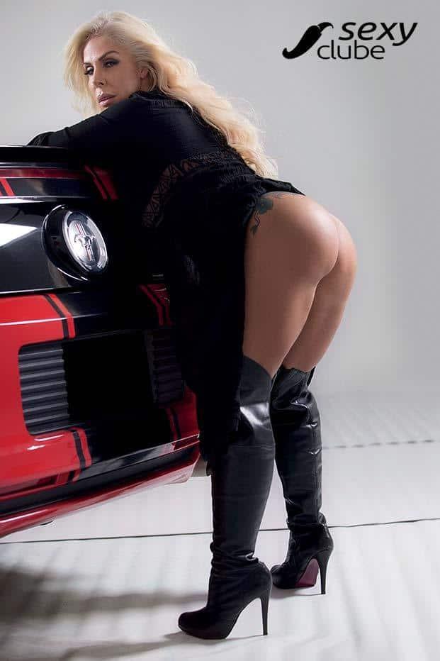 Rosana Menezes uma loira muito gostosa nua na Revista Sexy 53