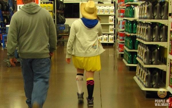 Clientes bizarros do Walmart pelo mundo Clientes bizarros do Walmart pelo mundo 10