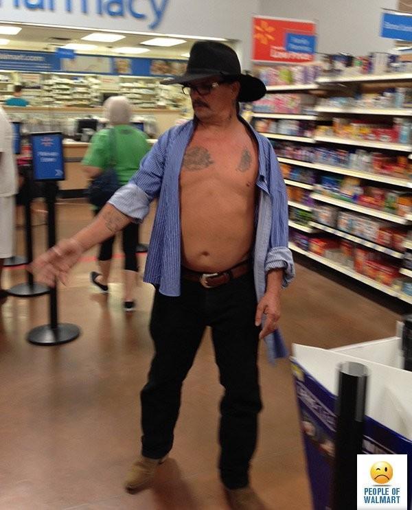 Clientes bizarros do Walmart pelo mundo Clientes bizarros do Walmart pelo mundo 16