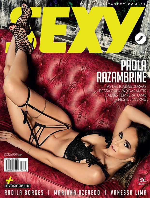 Paola Razambrine nua na Sexy de Julho