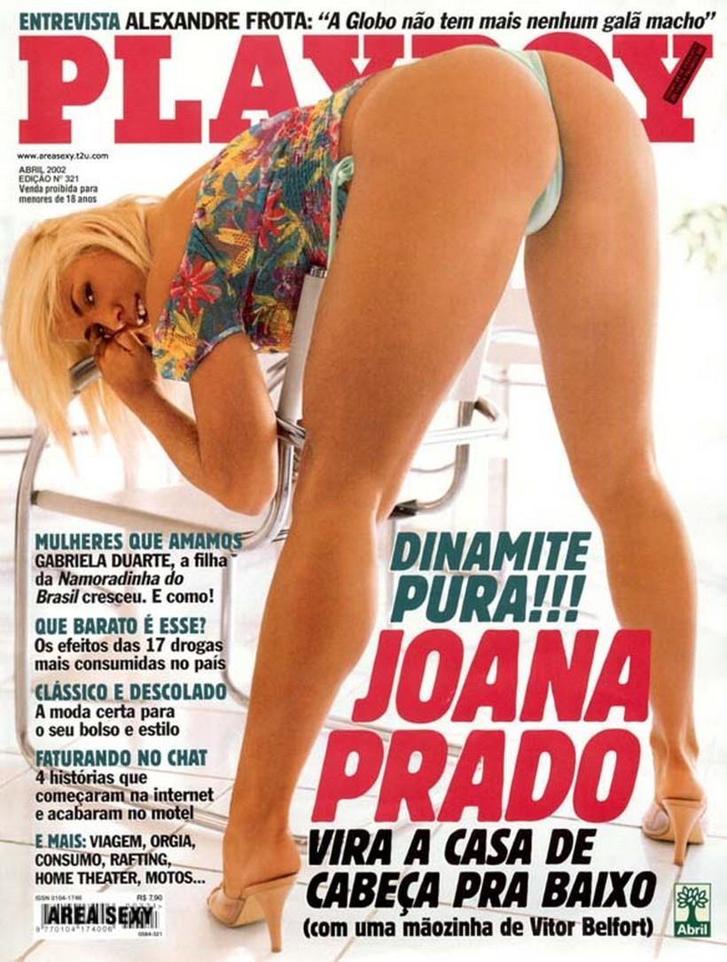 Playboy Joana Prado - Feiticeira 2002